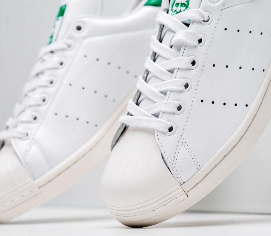 Adidas Superstar Superstan OG 'Cloud White Green' (2)