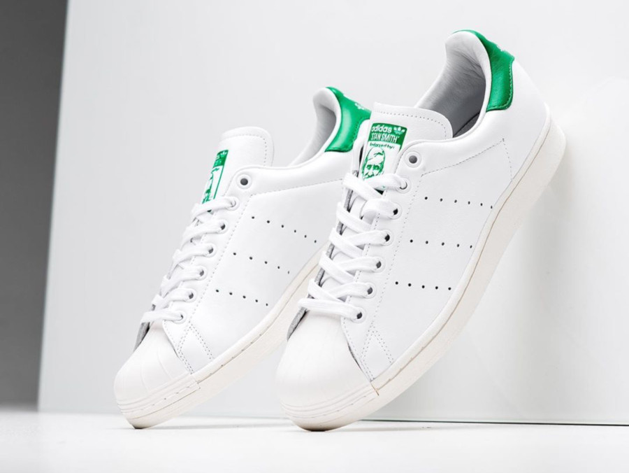 Adidas Superstar Superstan OG 'Cloud White Green' (4)