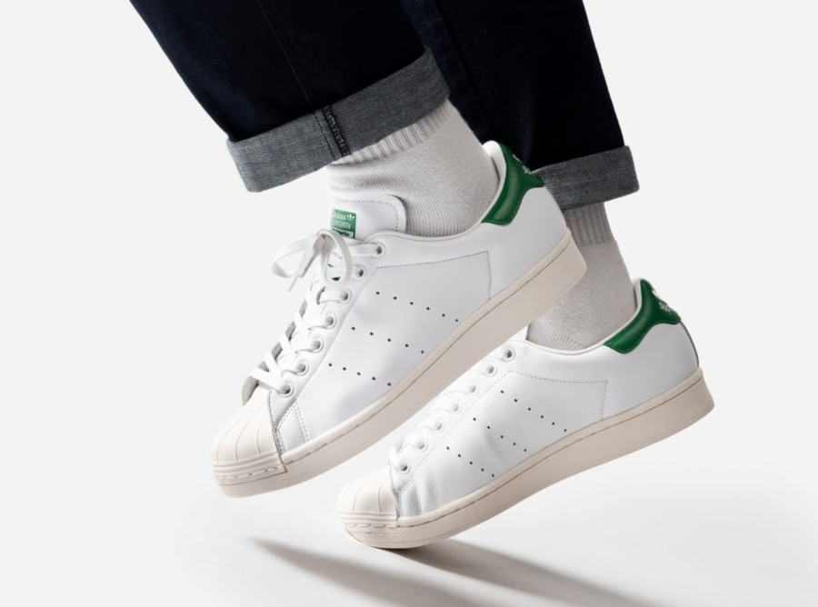 Adidas Superstar Superstan OG 'Cloud White Green' (5)