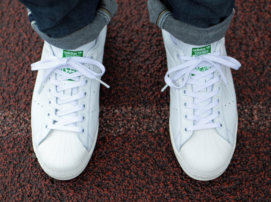 Adidas Superstar Superstan OG 'Cloud White Green' (6)