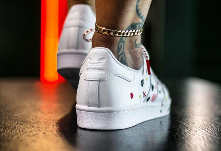 Adidas Superstar W Cloud White Saint Valentin 2020 FV3289 (1)