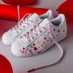 Avis] La Adidas Superstar 80's Half Heart (coeur rouge