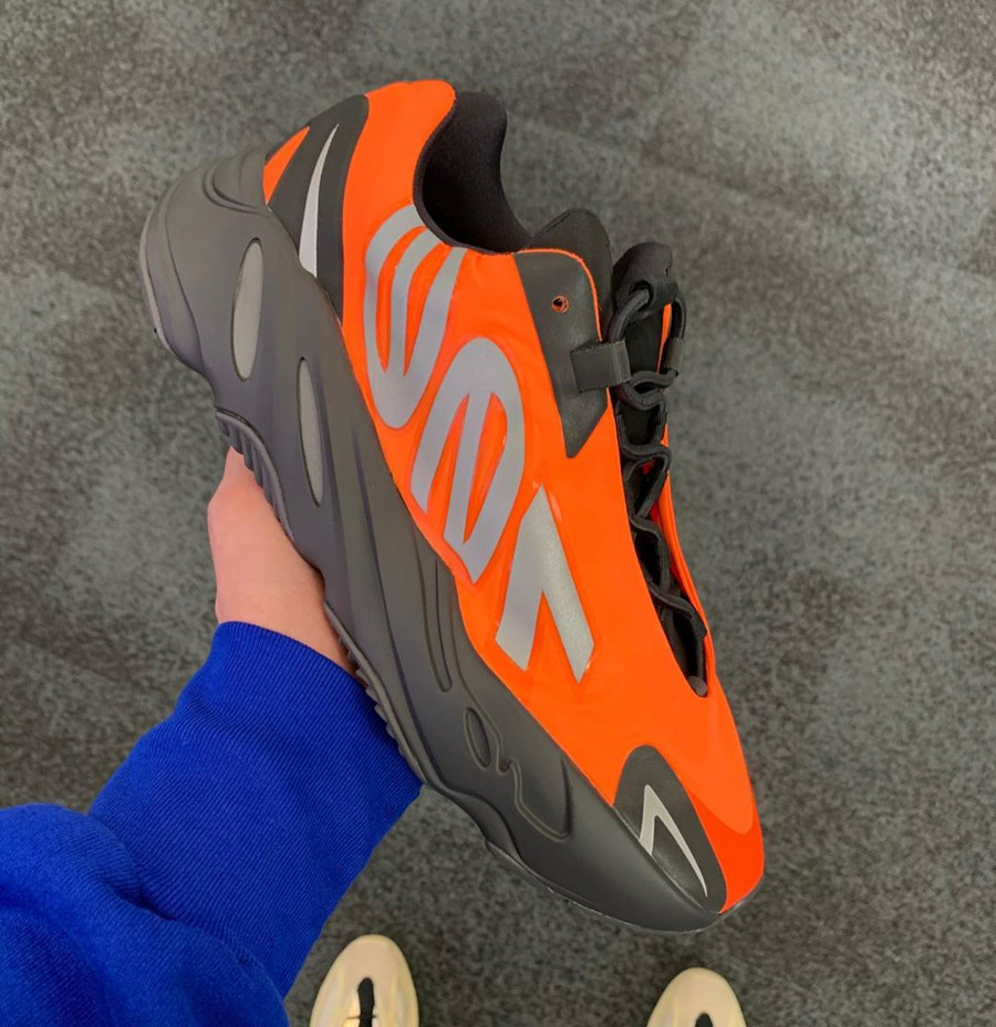 Adidas Yeezy 700 Boost MVNM Minivan Orange FV3258