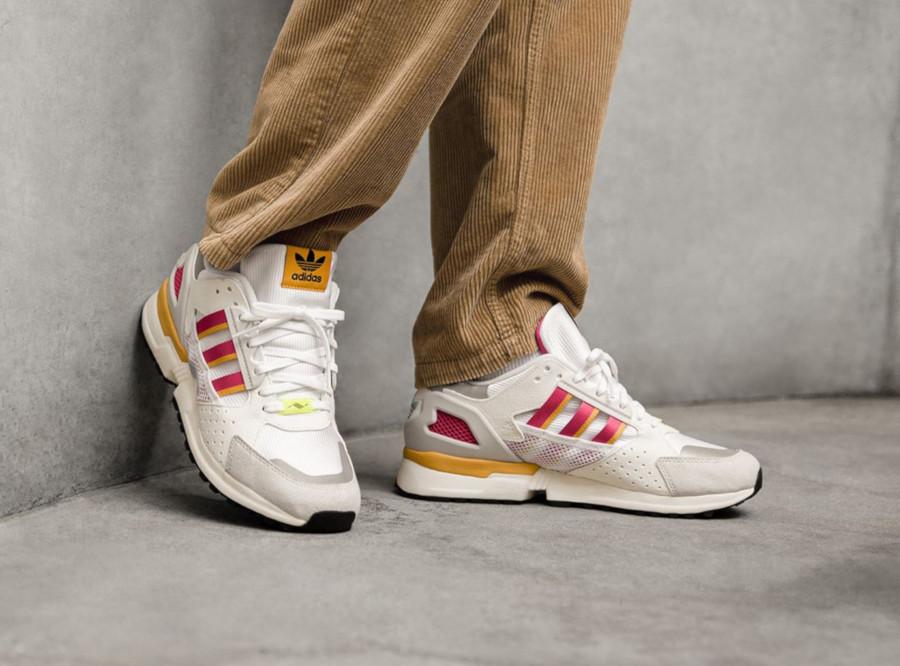 Adidas ZX 10,000 C Footwear White Supplier Colour FV6308 (3)