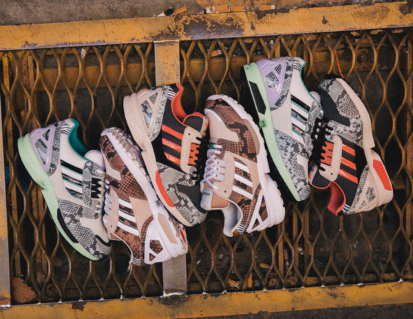 Adidas ZX 8000 Snakeskin Lethal Nights Pack