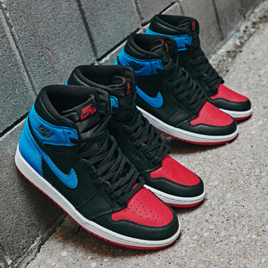 Air Jordan 1 High OG Wmns 'UNC to Chicago' (Powder Blue Gym Red) (0)
