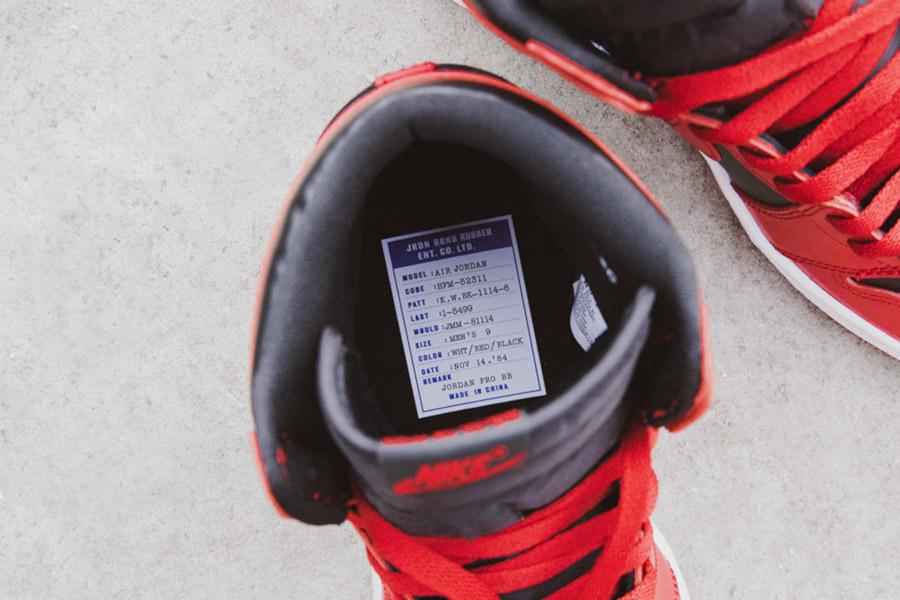 Air Jordan 1 High Retro OG 85 Varsity Red (4)