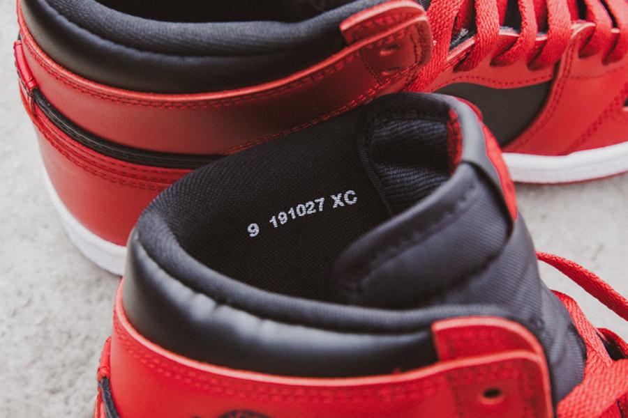 Air Jordan 1 High Retro OG 85 Varsity Red (5)