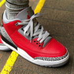Air Jordan III Retro SE 'U' Red Cement (All Star Game 2020)