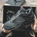 Air Jordan IV Retro 'Black Cat' 2020