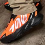 Kanye West x Adidas Yeezy Boost 700 MVNM Orange