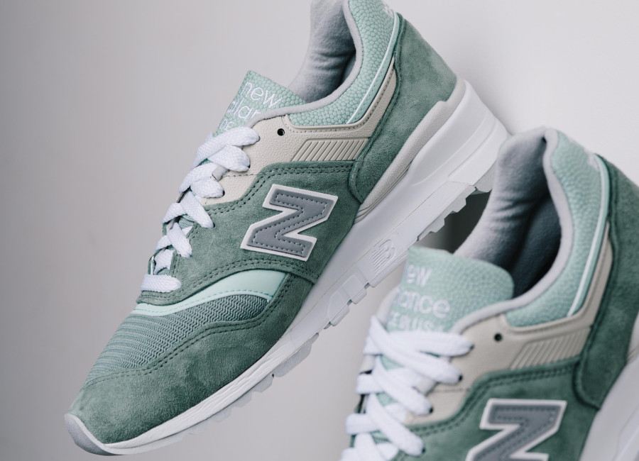 New Balance 997 'Less is More' Mint Green White (made in USA) (4)