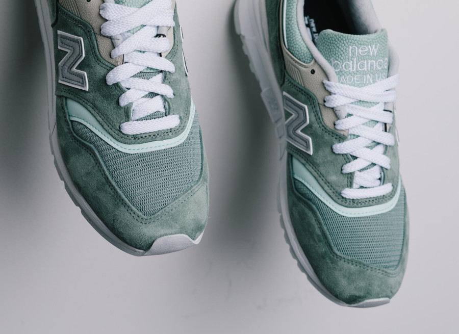 New Balance 997 'Less is More' Mint Green White (made in USA) (5)