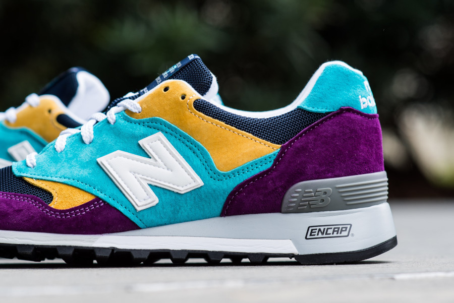 New Balance M 577 LP Purple Blue Yellow (made in England) (2)