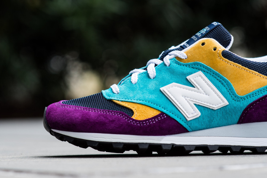New Balance M 577 LP Purple Blue Yellow (made in England) (3)