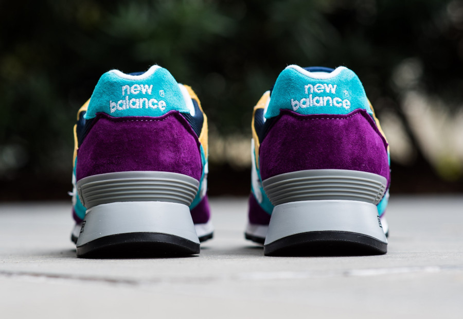 New Balance M 577 LP Purple Blue Yellow (made in England) (4)