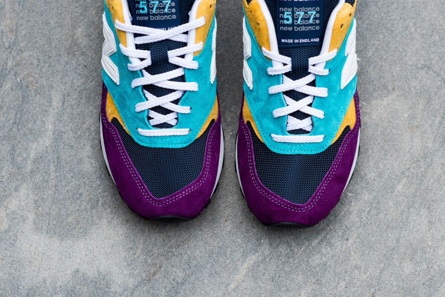 New Balance M 577 LP Purple Blue Yellow (made in England) (5)