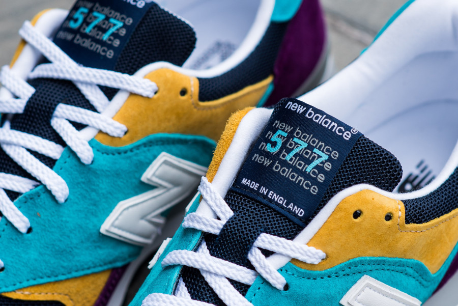 New Balance M 577 LP Purple Blue Yellow (made in England) (6)