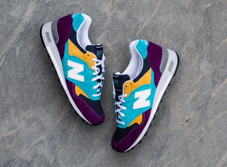New Balance M 577 LP Purple Blue Yellow (made in England) (7)