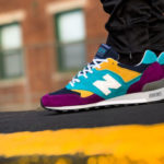 New Balance M 577 LP 'Purple Blue Yellow' (made in England)
