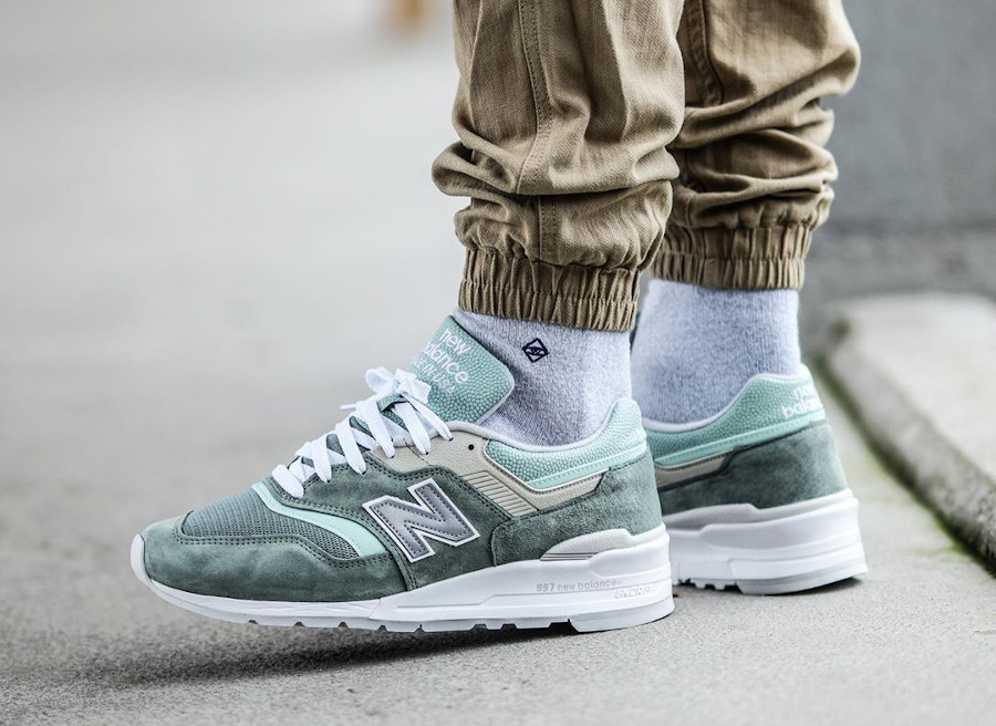 New Balance M997SOB Mint Less is More (made in US) couv