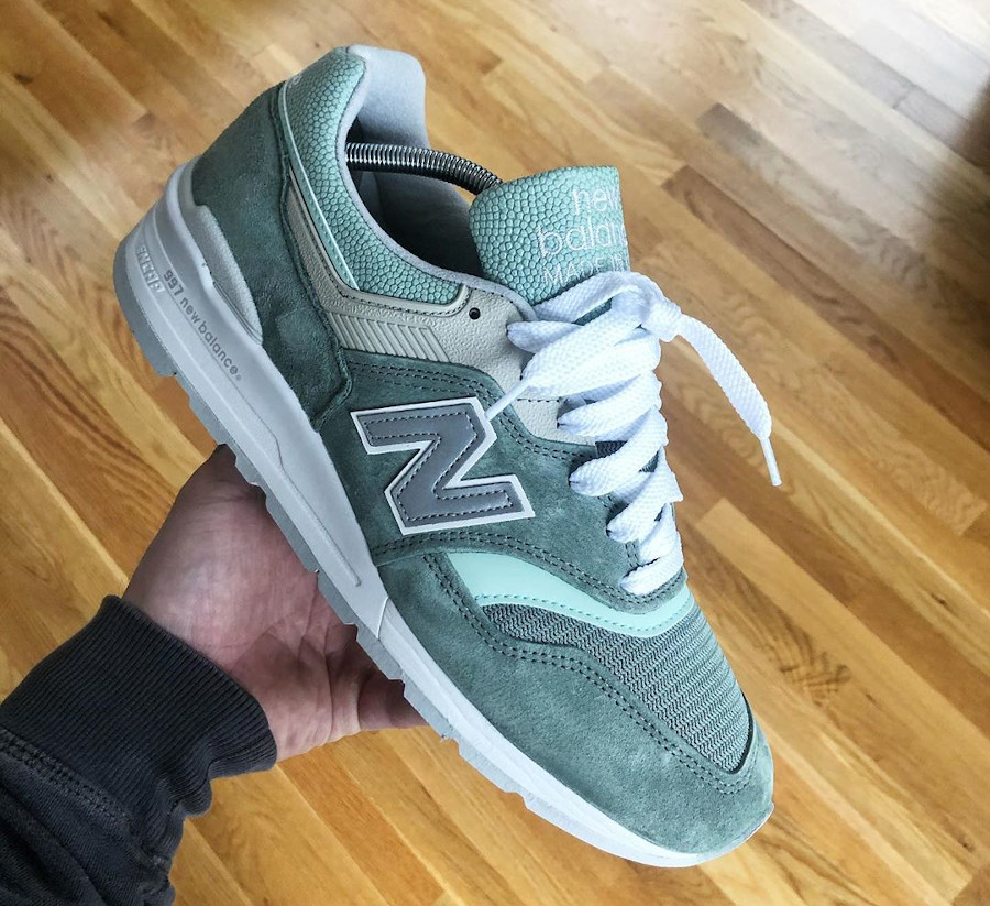 New Balance M997SOB Mint Less is More (made in US)