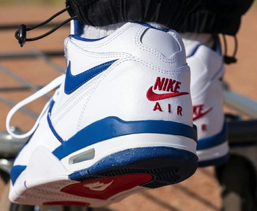 Nike Air Flight 89 OG White Dark Royal Blue Varsity Red (5)