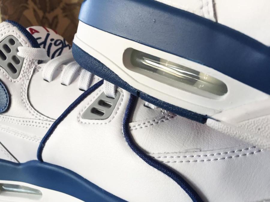 Nike Air Flight 89 OG White Dark Royal Blue Varsity Red (6)