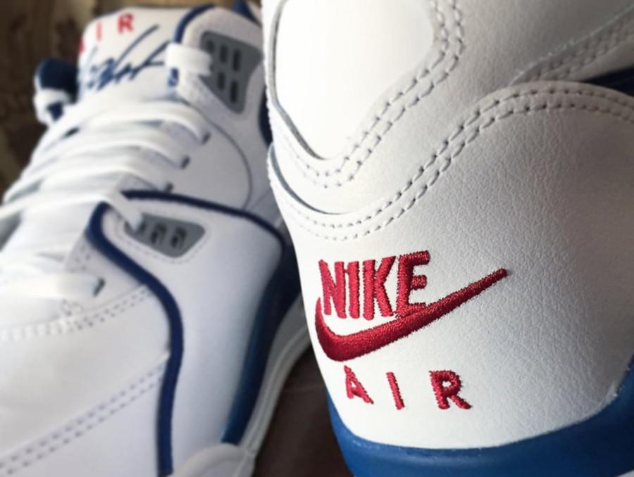 Nike Air Flight 89 OG White Dark Royal Blue Varsity Red (7)