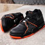Nike Air Flight 89 QS 'All Star' Black Orange Blaze