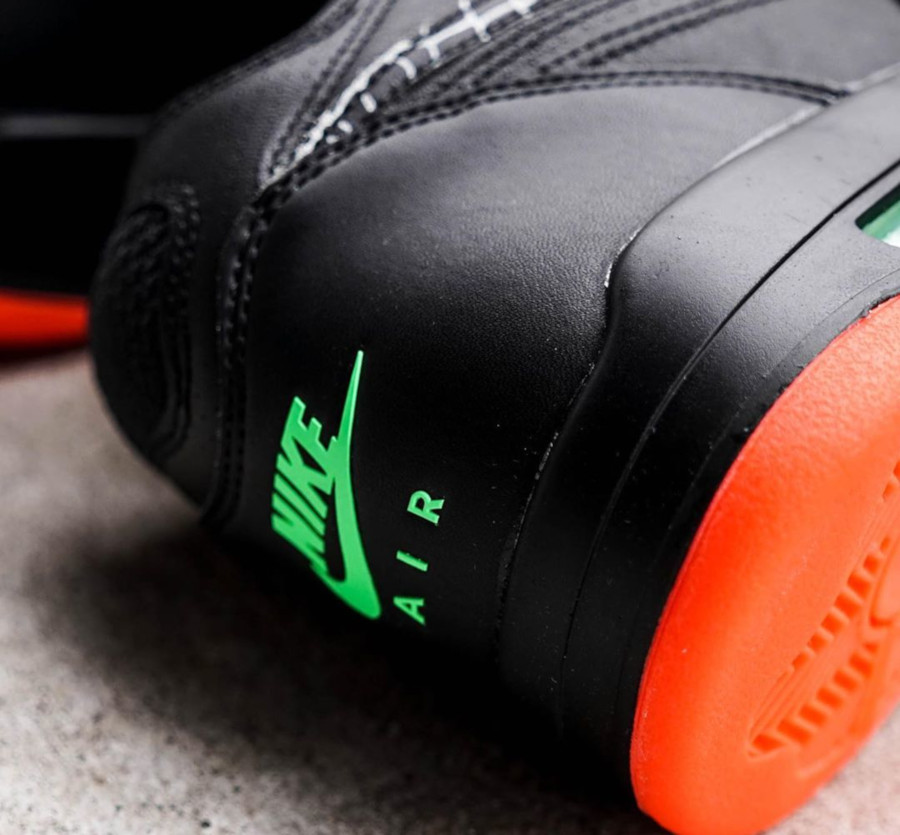 Nike Air Flight 89 QS 'All Star' Black Orange Blaze (1)