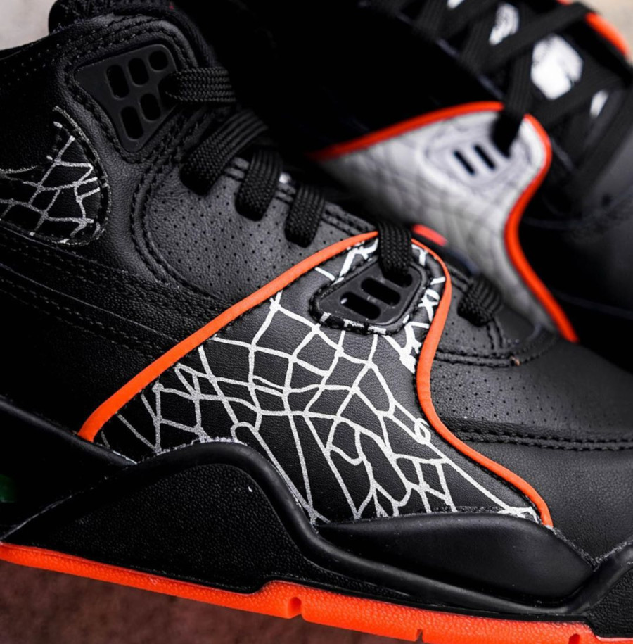 Nike Air Flight 89 QS 'All Star' Black Orange Blaze (3)