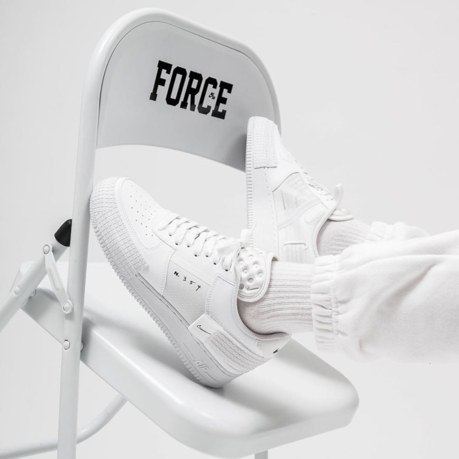 Nike Air Force 1 Drop Type 'Triple White' (3)