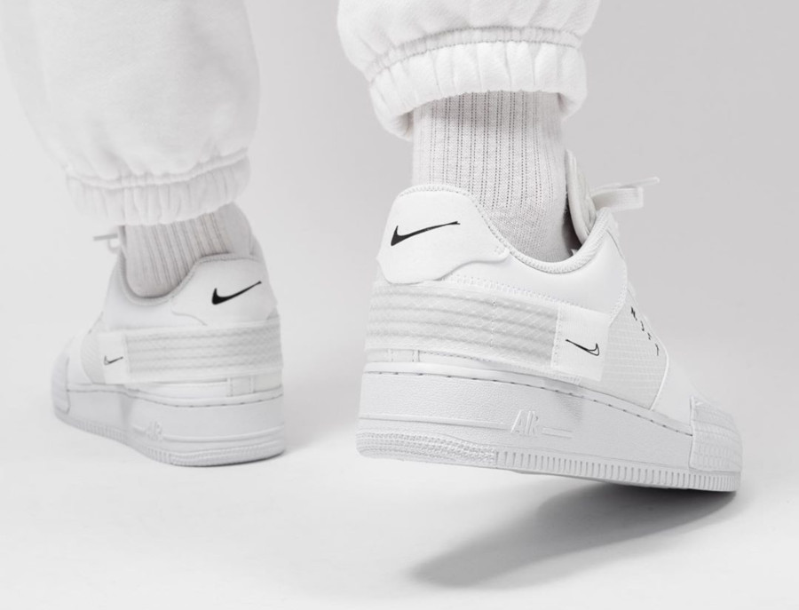 Nike Air Force 1 Drop Type 'Triple White' (4)
