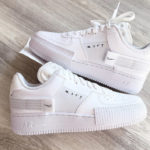 Nike Air Force 1 Drop Type 'Triple White'