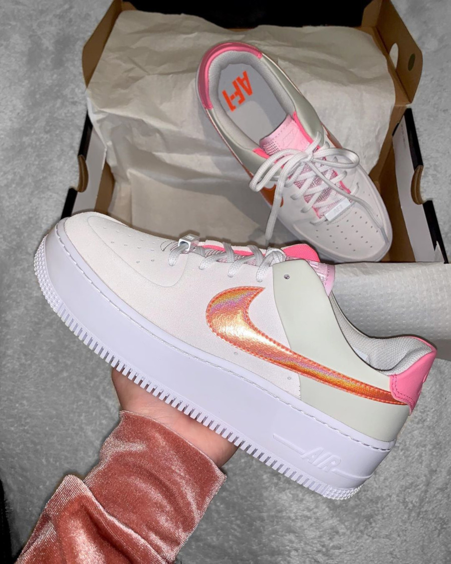Nike Wmns Air Force 1 Sage Low Light Bone Pink CV3036-001
