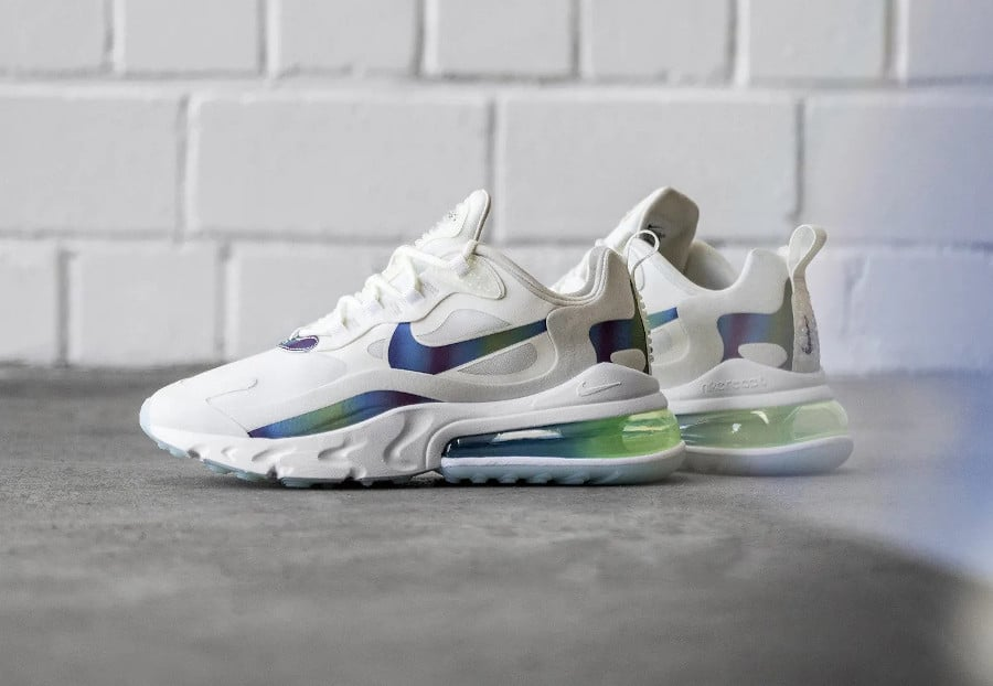 Nike Air Max 270 React 'Bubble Wrap Iridescent' (5)
