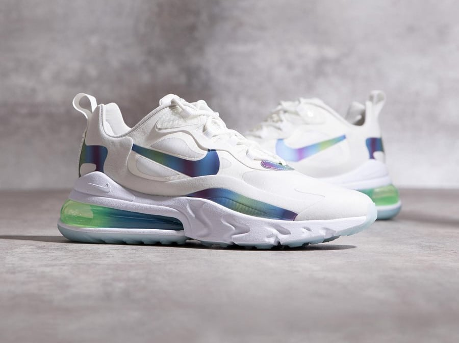 Nike Air Max 270 React 'Bubble Wrap Iridescent' (6-1)