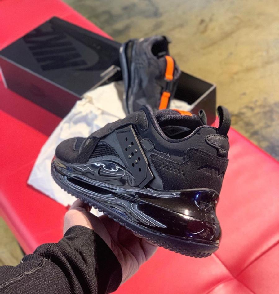 Que vaut la Nike Air Max 720 Slip OBJ Laceless Black DA4155