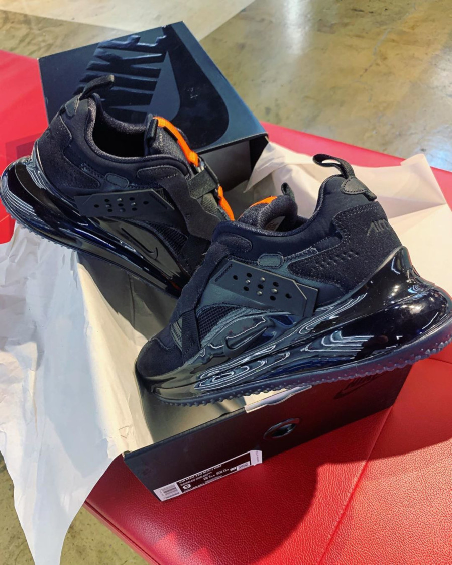 Nike Air Max 720 Slip Odell Beckham Jr 'Black Total Orange' (1)