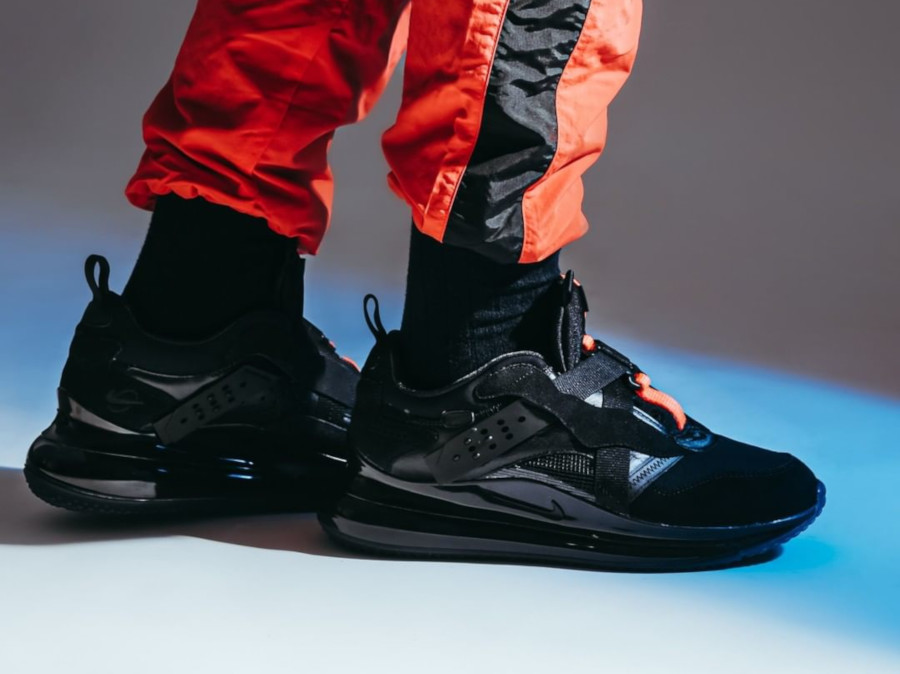 Nike Air Max 720 Slip Odell Beckham Jr 'Black Total Orange' (4)