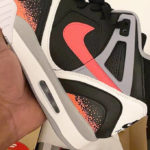 Nike Air Tech Challenge II 'Black Hot Lava'