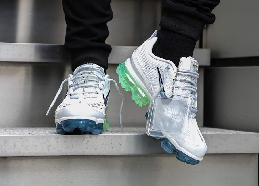 Nike Air Vapormax 360 20 'Bubble Pack' Summit White Lime (2)