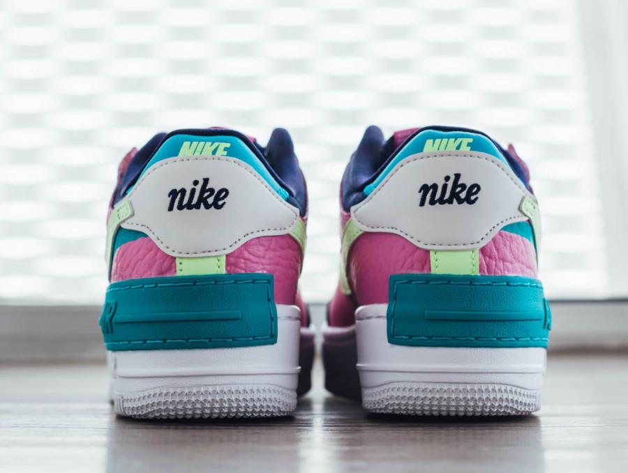 Nike Wmns AF1 Shadow 'Oracle Aqua Barely Volt Smoke Grey' (1)