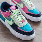 Nike Wmns AF1 Shadow SE 'Oracle Aqua Barely Volt Smoke Grey'