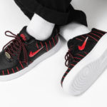 Nike Wmns Air Force 1 Jewel QS 'Chicago Bulls' Black University Red