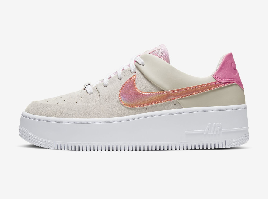 Nike Wmns Air Force 1 Sage Low 'White Digital Pink Foam' (1)