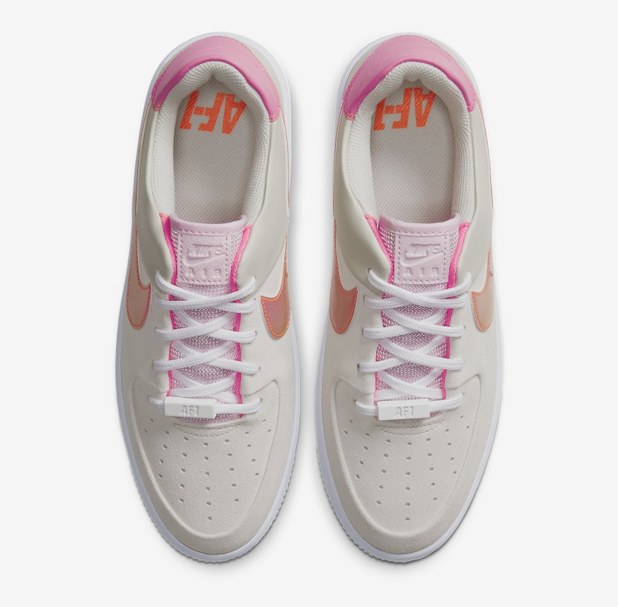 Nike Wmns Air Force 1 Sage Low 'White Digital Pink Foam' (3)