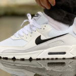 Nike Wmns Air Max 90 Recrafted 'White Black'
