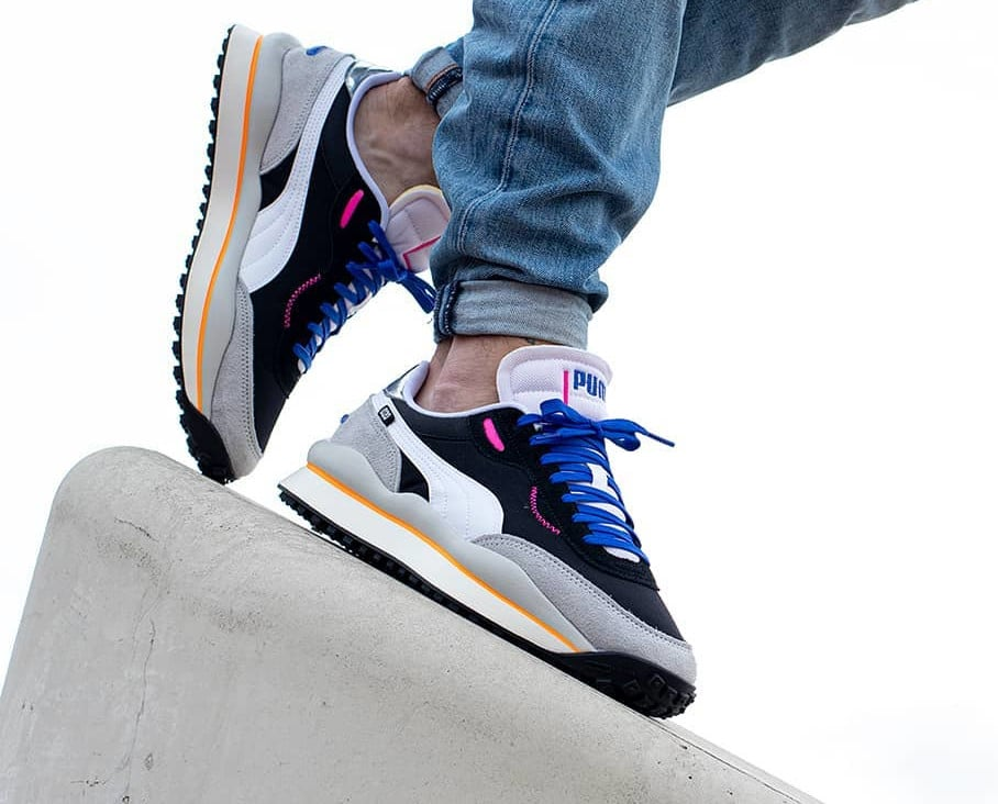 Puma Style Rider 020 Play On 'Black High Rise Gray Violet' (3)